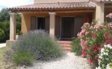 Gîte neuf entre Orange et Avignon 60m² climatisé