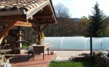 gîte (piscine) prox. Cluny Bourgogne du sud