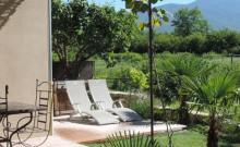 Crillon le Brave: Gite avec Jacuzzi au pied du Mont Ventoux