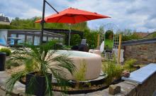 Gîte de grand confort  avec piscine couverte-chauffée,  spa, terrain de pétanques