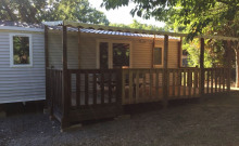 Mobil-home - Camping les Cigales - Berrias-et-Casteljau
