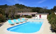 Maison de vacance-gîte  2-6 pers, avec piscines sur le Domaine Menthe à l'Ô près des Gorges du Verdon