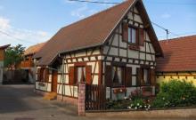 Gîte Clémentine à 2 kms de la route des vins classé 3 étoiles