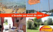 PROMO -10% S18 ; autres dispos Gîte/maison neuf jard pkg Bord Mer plages ANCV LE POULDU et Doëlan, pêche