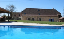 Gite climatisé avec piscine privée
