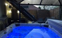 Gite  Alsace Jacuzzi  Extérieur 8 places de massage chauffée toute l'année