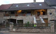 Gite de France dans village du Sud-Bourgogne