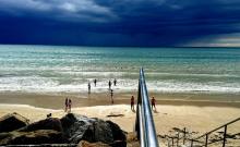 Havre de paix avec 2 chambres et jardin et sauna, WIFI, ANCV, Animaux acceptés sous conditions, à 5 minutes de la mer