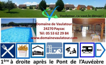 village de 10 gites, piscine, snack-bar