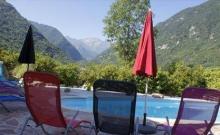 Gites et Chambres avec piscine en Montagne