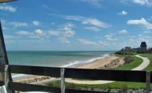 F3 plage du débarquement vue sur mer