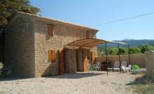 maison en campagne en vaucluse  Le Barroux au pied du mont ventoux