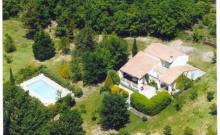 Maison avec piscine privée - WIFI - 12/14 pers. les cigales   NERS  30360