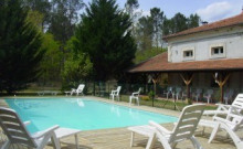 Maison de maître 18 personnes piscine chauffée PROMO JUILLET 25%