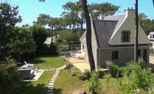Villa indépendante 180m² 11 personnes avec jacuzzi extérieur proche plage Bretagne sud Golfe du Morbihan
