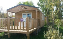 Mobil-home Loggia bay - 2 chambres - 5 pers terrasse couverte