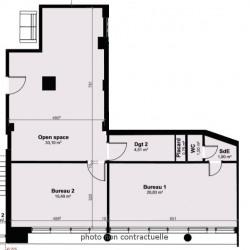 Vente Bureau Le Havre 110 m²