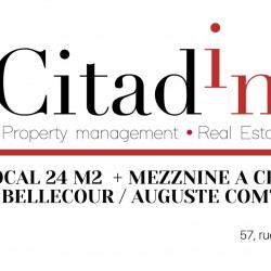 Cession de bail Local d'activités Lyon 2ème 24 m²