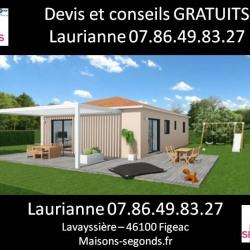 Maison  3 pièces + Terrain  2500 m² Bagnac-sur-Célé