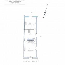 Location Bureau Paris 8ème 109 m²