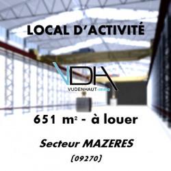 Vente Local d'activités Mazères 653 m²