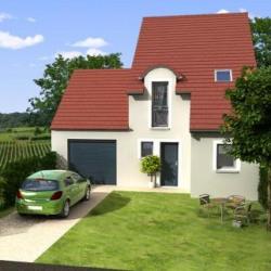 Maison  4 pièces + Terrain  880 m² Simandre