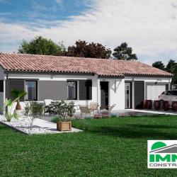 Maison  2 pièces + Terrain  450 m² Villandraut