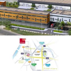 Location Local d'activités Saint-Denis 968 m²