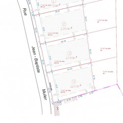 Terrain  de 1384 m²  Seclin  (59113)