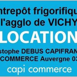 Location Entrepôt Vichy (03200)