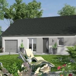 Maison  4 pièces + Terrain  290 m² Saint Jean de la Ruelle