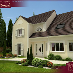 Terrain  de 1100 m²  Héricy  (77850)