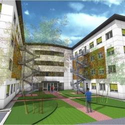 Location Bureau Bourgoin-Jallieu 179 m²