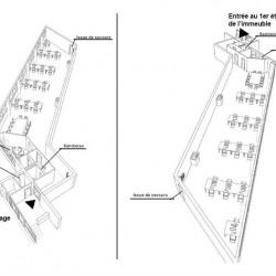 Location Bureau Villeneuve-la-Garenne 266 m²