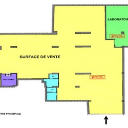Vente Local commercial Poissy 520 m²