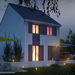 Maison  4 pièces + Terrain  216 m² Tremblay-en-France
