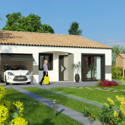 Maison  4 pièces + Terrain  300 m² Creissan