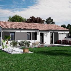 Maison  2 pièces + Terrain  1100 m² Moustey