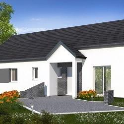 Maison  5 pièces + Terrain  1000 m² Achery