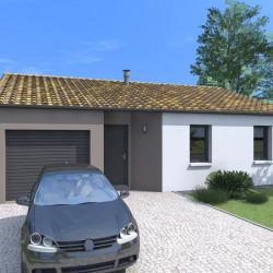 Maison  5 pièces + Terrain  565 m² Antigny