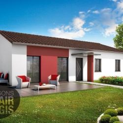 Maison  3 pièces + Terrain  600 m² Beaujeu