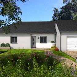 Maison  5 pièces + Terrain  650 m² Rieutort-de-Randon