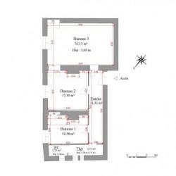 Location Local commercial Trévoux 72 m²