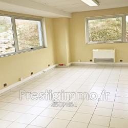 Location Bureau Vallauris 80 m²