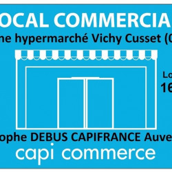 Location Local commercial Vichy 160 m²