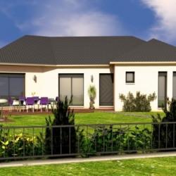 Maison  4 pièces + Terrain  503 m² Rieutort-de-Randon