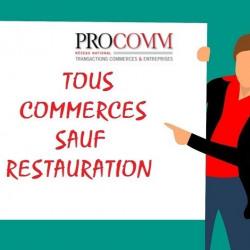 Cession de bail Local commercial Tours 40 m²