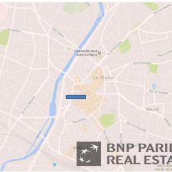 Location Bureau Le Mans 762 m²