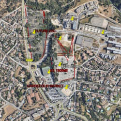 Location Local commercial Villeneuve-lès-Avignon 1000 m²