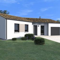 Maison  6 pièces + Terrain  707 m² Sainte-Radegonde